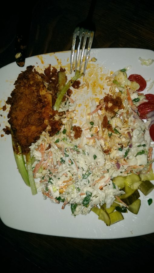 Hot chicken salad at Green Hills Grille