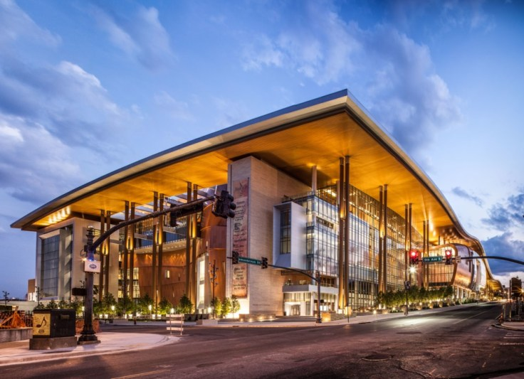 Music City Center convention hall Nashville