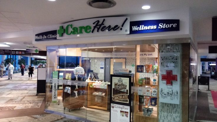 CareHere walk-in clinic at Nashville airport