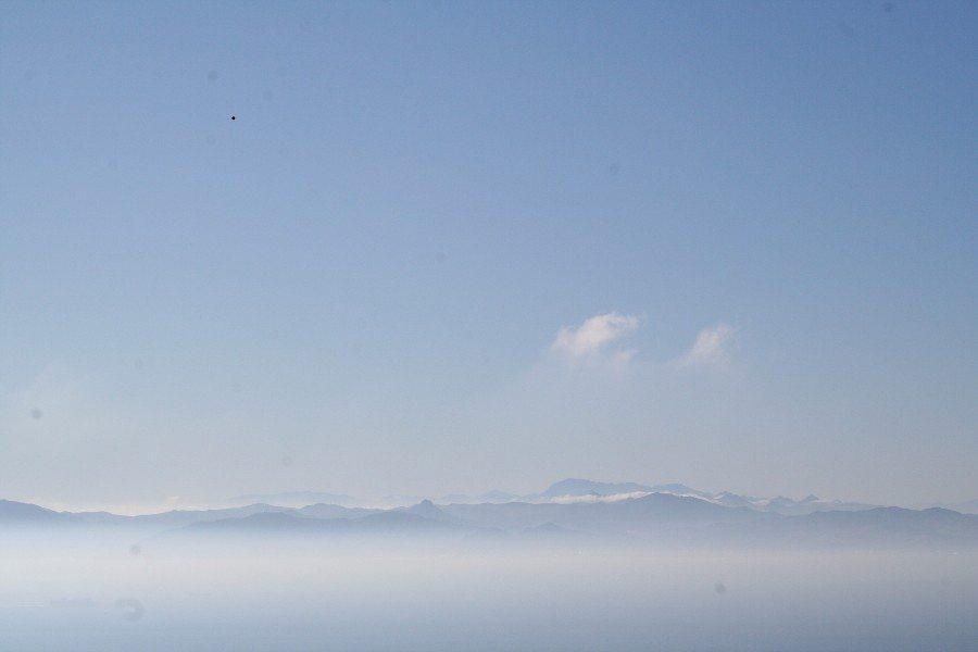 Mediterranean sea from Tarifa beach. Spain (2011-10)