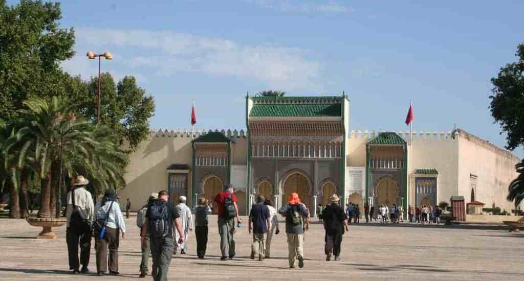 African Trails group visiting Fes, Morocco (2011-10)