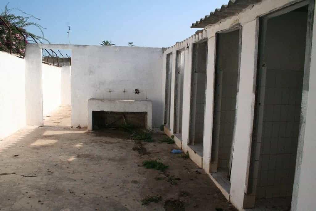 Temara Plage Camping facilities, Morocco (2011-10)