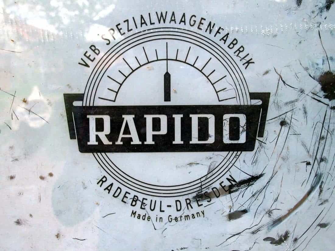 Rapido writing, Germany (2015-05)