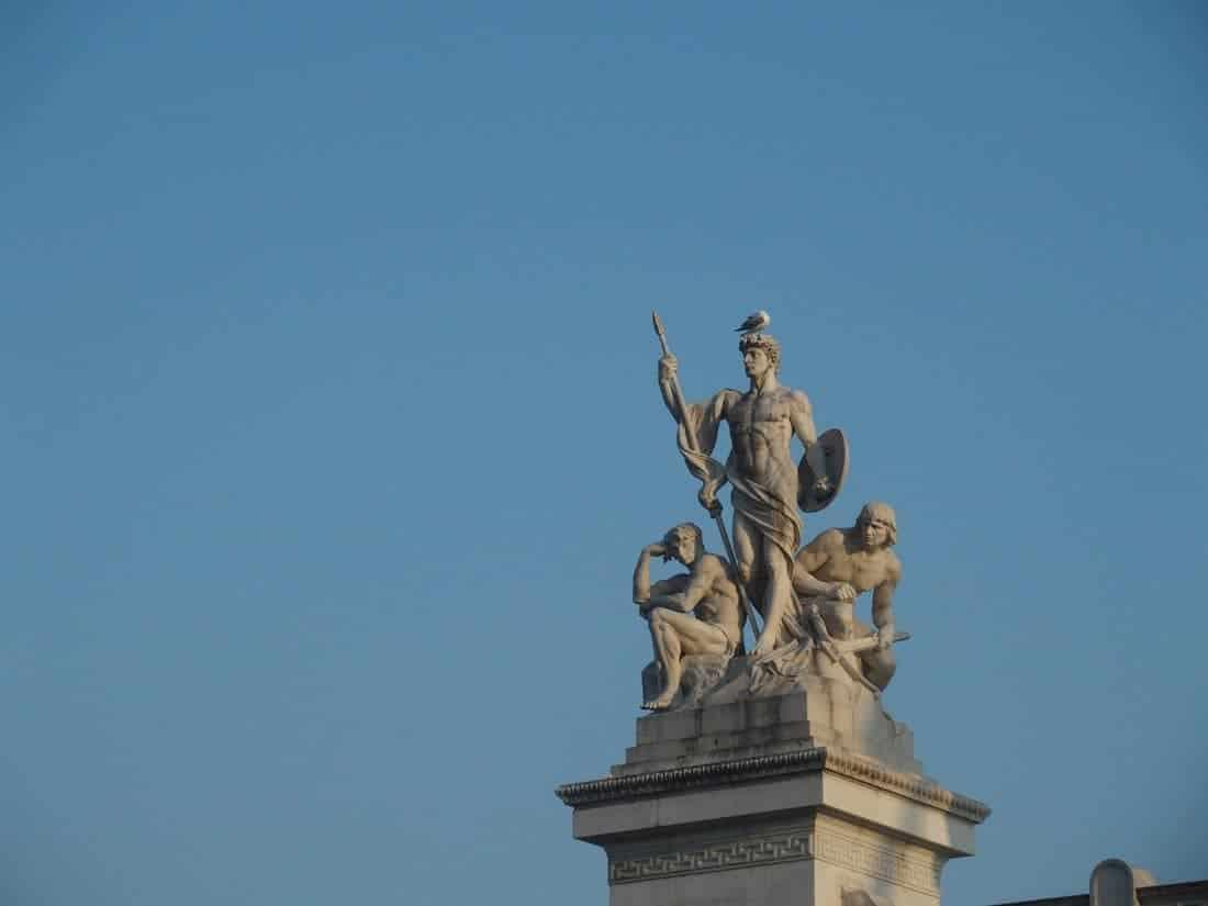 Rome sculpture, Italy (2015-03)