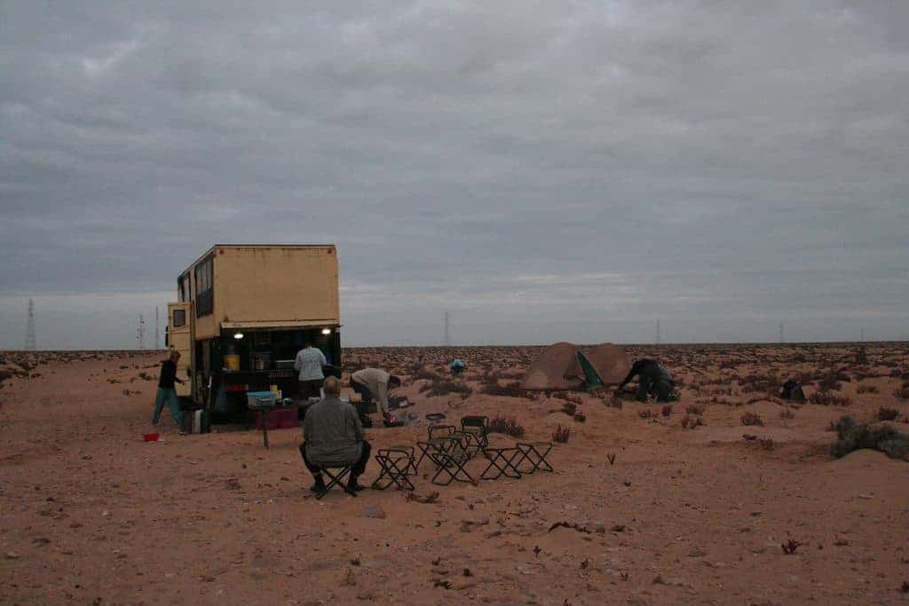 African Trails bush camp, Western Sahara, Morocco (2011-11)