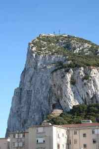 The rock in Gibraltar, UK / Spain (2011-10)