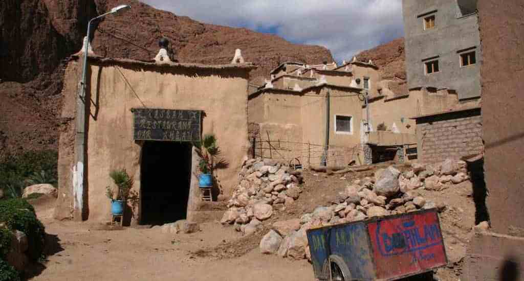 Guesthouse in Todra, Morocco (2011-10)