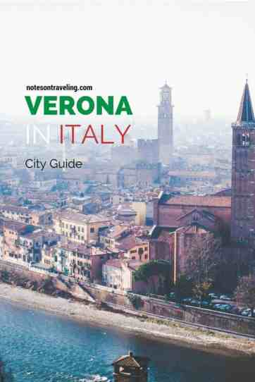 A simple and comprehensive itinerary for your visit to Verona, the city of Romeo & Juliet, easily reached by train from Venice.