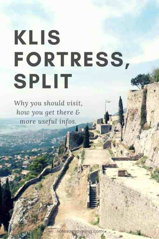 Learn all you need to know for your visit to Klis Fortress above the Croatian city Split, which is also known as Meereen from the show Game of Thrones.