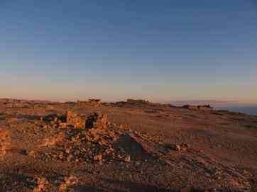 Sunrise over Masada National Park, Israel (2017-01-03)
