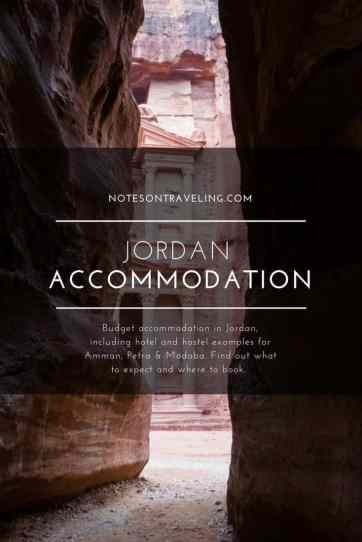 Budget accommodation in Jordan, including hotel and hostel examples for Amman, Petra & Madaba. Find out what to expect and where to book.