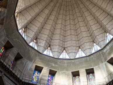 Roof of the Basilica of the Annunciation, Nazareth, Israel (2017-02-03)