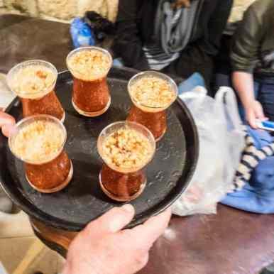 Cinnamon at Abu Salem Café, Nazareth, Israel (2017-02-03)