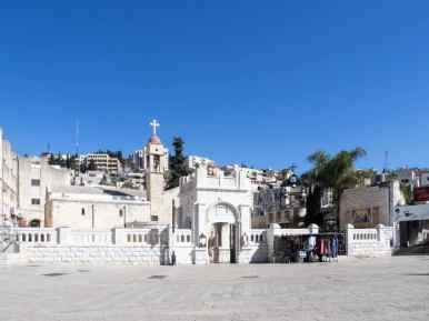 Greek Orthodox Church of the Annunciation, Nazareth, Israel (2017-02-03)