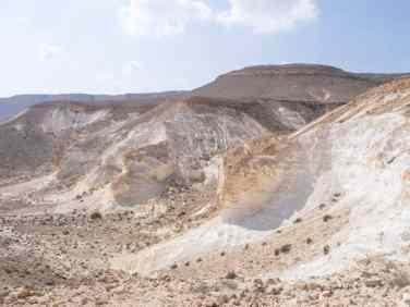 White rock towards Ein Akev, Israel (2017-02-09)