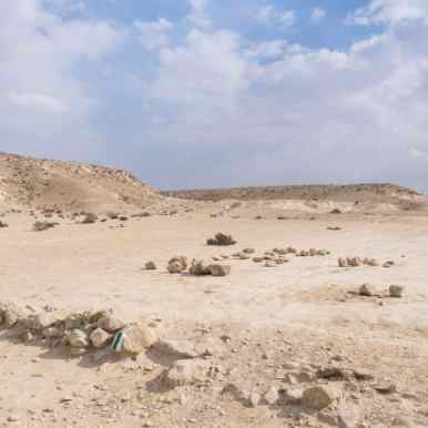First signs of civilization towards Sde Boker, Israel (2017-02-09)