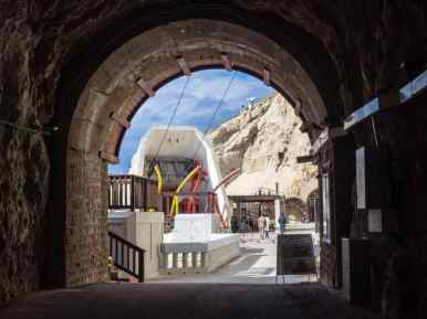 Former railway tunnel, Rosh Hanikra, Israel (2017-02-15)