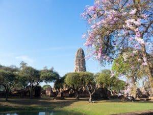 Wat Rathaburana, Ayutthaya, Thailand (2017-04)