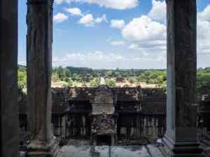 View from Bakan Tower, Angkor Wat, Siem Reap, Cambodia (2017-04-08)