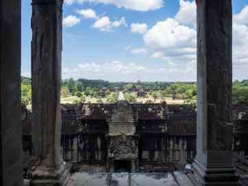 View from Bakan Tower, Angkor Wat, Siem Reap, Cambodia (2017-04-08)