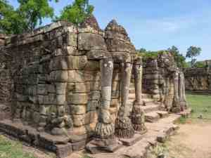 Elephant Terrace, Angkor Thom, Siem Reap, Cambodia (2017-04-13)