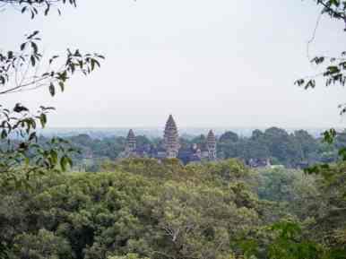 Angkor Wat as seen from Phnom Bakheng, Siem Reap, Cambodia (2017-04-21)
