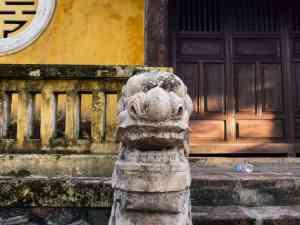 Detail at Hue Citadel, Vietnam (2017-06)