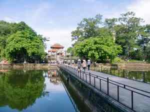 Vietnamese visitors at Minh Mang Tomb, Hue, Vietnam (2017-06)