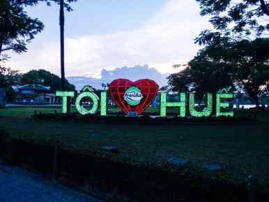 I love Hue, Vietnam (2017-06)