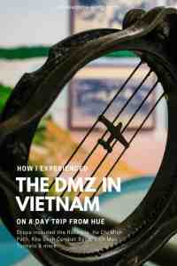 My account of a guided DMZ Vietnam tour booked in Hue, incl. Rockpile, Ho Chi Minh Path, Khe Sanh, DMZ Bridge, Vinh Moc tunnels. #guidedtour #history #destinationguide