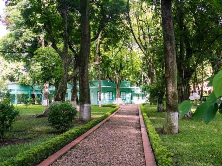On the grounds of the Presidential Palace, Hanoi, Vietnam (2017-07)