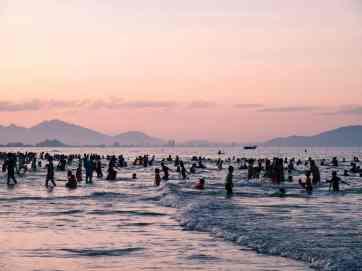 Sunset at Hoi An beach, Vietnam (2017-05/06)