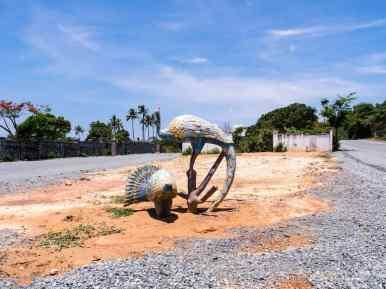Random sculpture, Kep, Cambodia (2017-04)