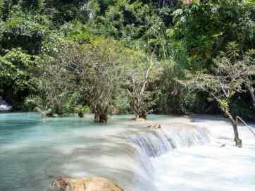 At the foot of Kuang Si Waterfall, Luang Prabang, Laos (2017-08)