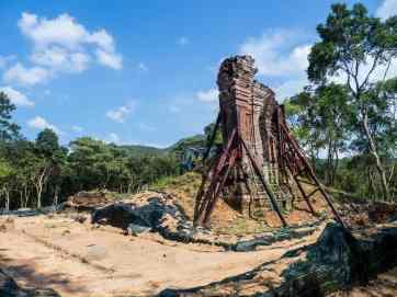 Reconstruction at My Son Sanctuary, Hoi An, Vietnam (2017-05)