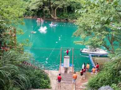 Water activities around Dark Cave, Phong Nha-Ke Bang National Park, Vietnam (2017-06)