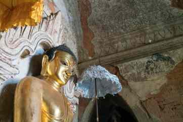 Tha Gyar Hit Paya golden Buddha, Bagan, Myanmar (2017-09)
