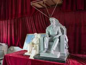 Proposed sculpture for General Aung San, Mandalay, Myanmar (2017-09)