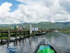 Inle Lake boat tour: Maing Thauk teak bridge, Myanmar (2017-10)