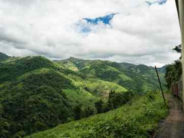 Myanmar train travels: On the slow train Shwenyaung (Inle Lake) to Thazi, Myanmar (2017-10)