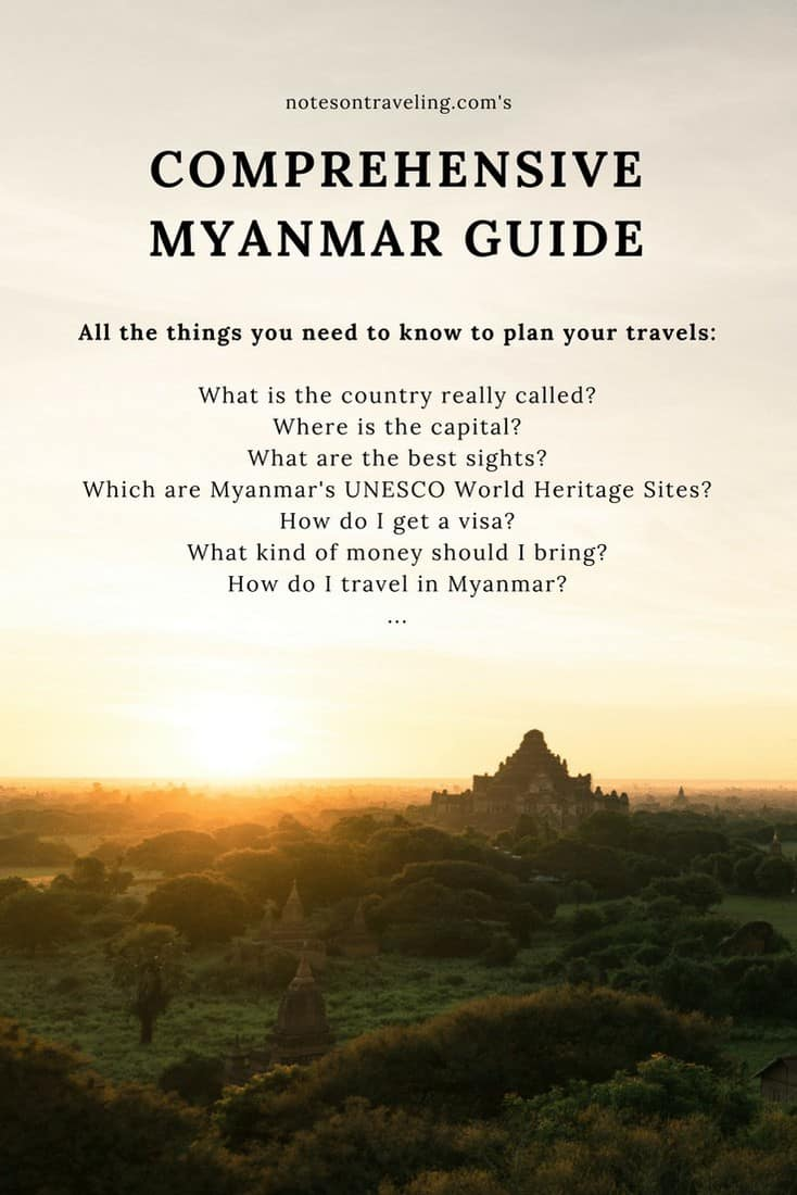 What is the country called? How do I get a Myanmar visa? What money should I bring?... and other Myanmar questions are answered in this comprehensive post. #myanmarininerary #destinationguide #travelblog