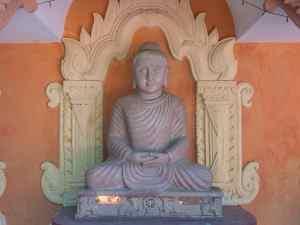 Pakistani Buddha at Sitagu International Buddhist Academy, Sagaing, Mandalay, Myanmar (2017-09)