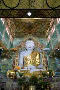 Buddha at Soon U Ponya Shin Pagoda , Sagaing, Mandalay, Myanmar (2017-09)