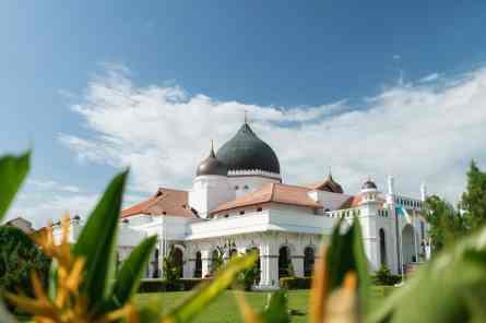 Kapitan Keling mosque - George Town, Penang, Malaysia - 20171218-DSC02912