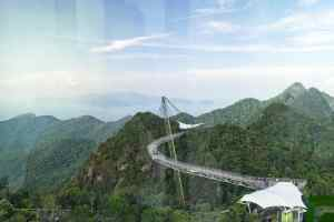 SkyBridge as seen from SkyCab, Langkawi, Malaysia