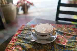 Penang food: Cappuccino at 55 Café, George Town, Malaysia - 20171217-DSC02875
