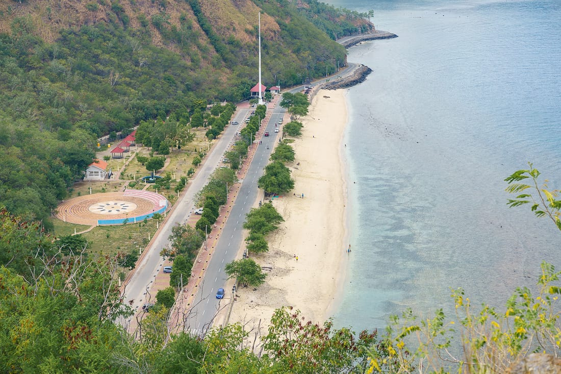 Beach below Christo Rei do Dili, East Timor