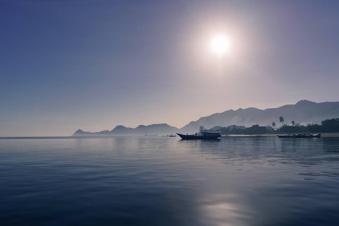 Morning at Dili port, East Timor