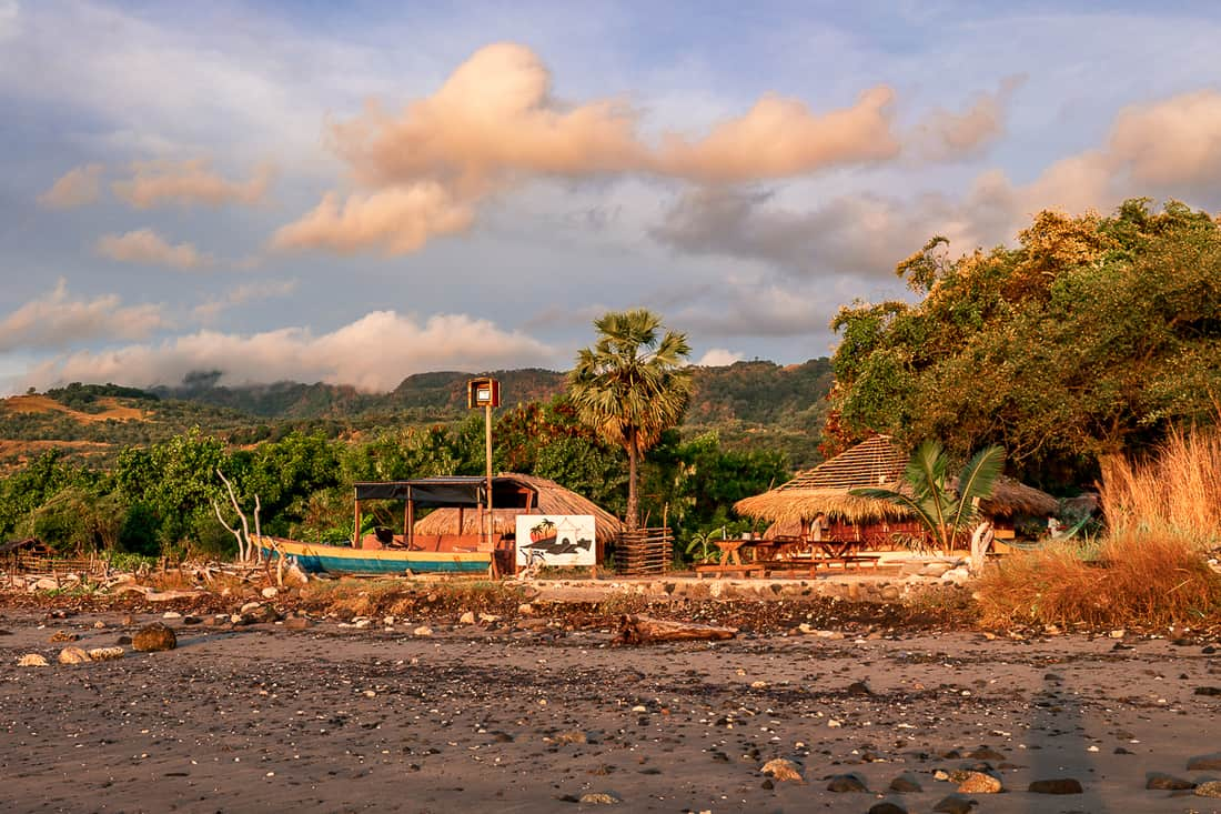 Atauro Dive Resort at sunrise, Beloi, Atauro, East Timor