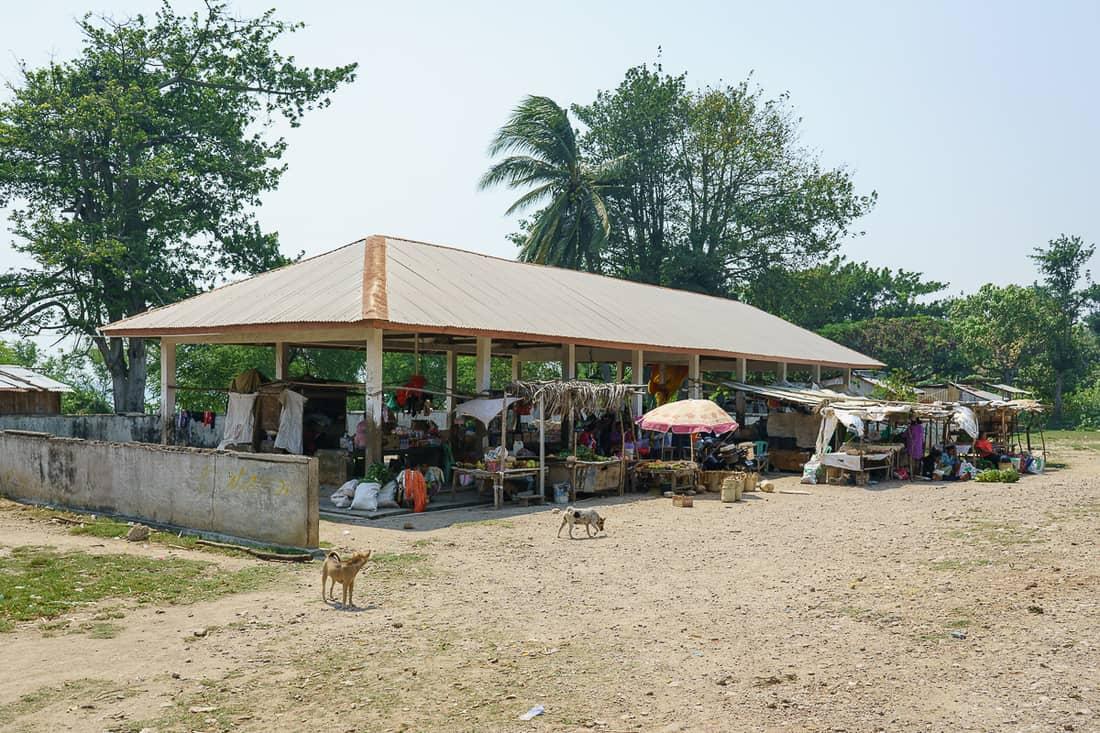 Lautem market, East Timor